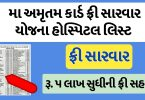 Maa Amrutam Yojana Hospital List In Gujarat