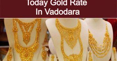 Today Gold Rate In Vadodara